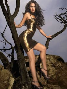 Megan_Fox_metallic_dress